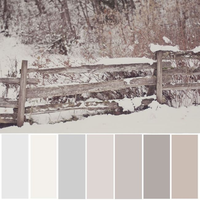 Abuse desta paleta de cores neutras para decorar o seu quarto.