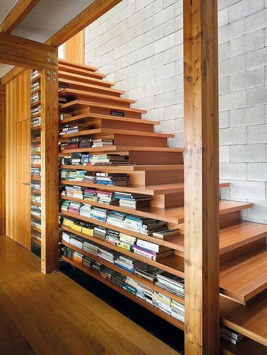 Para guardar livros.