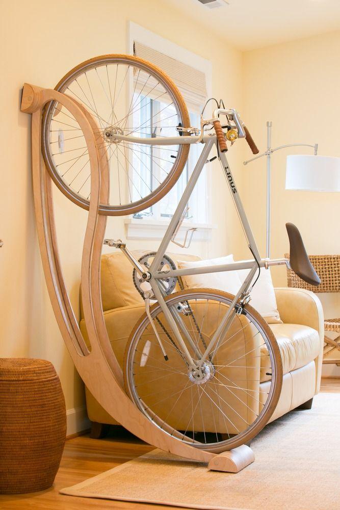 Um rack genial para apoiar sua bike.