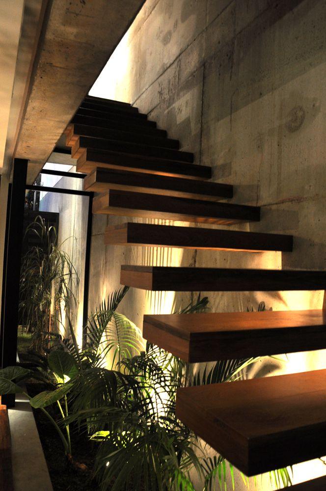 Estúdio Lorena Couto se inspira em: jardim embaixo da escada.