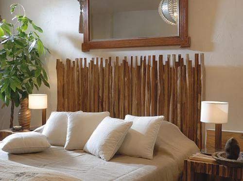 Cabeceira em Bambu