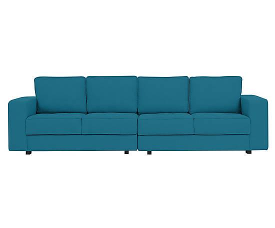 Sofá Amuse Straight - Azul Oceano - Preço sob consulta no site da