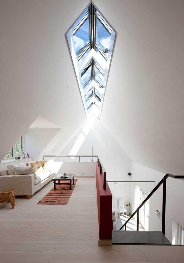 Iluminação natural na sala.